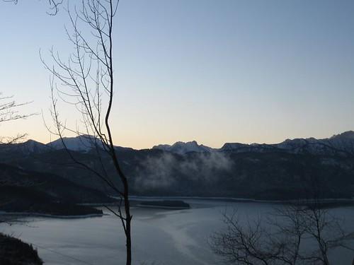 Morgenstimmung am Walchensee