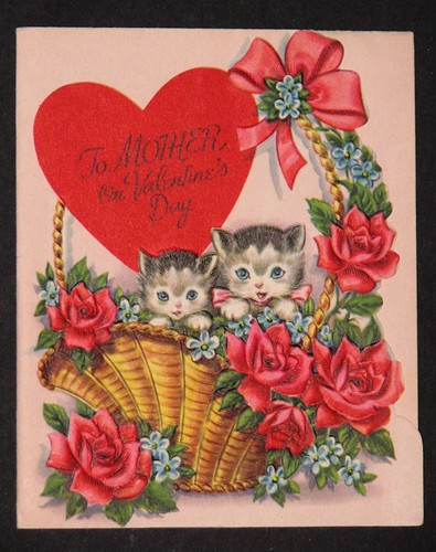 Vintage Valentine's Day Card 003
