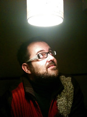 "52 Weeks of ""The One I Love"" (24): A Light Shines Upon Him (Sion+Anton) Tags: glasses guapo sionfullana antonkawasaki iphone3gs beardedgaymale lookingupatalightsourcefromabove redbrownandgreenknitsweater lookingangelic 52weeksoftheoneilove24alightshinesuponhim"
