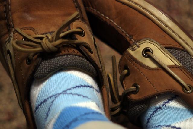 Socks & Boat Shoes