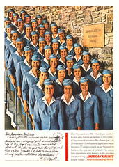 ... a lot of stewardessssss (x-ray delta one) Tags: illustration vintage magazine ads advertising airport aircraft ad 1950s concorde americana boeing 707 airlines americanairlines dc3 populuxe panam sst 747 jumbojet coldwar aerospace worldoftomorrow jetage dc4 magazineillustration airlinesadvertising