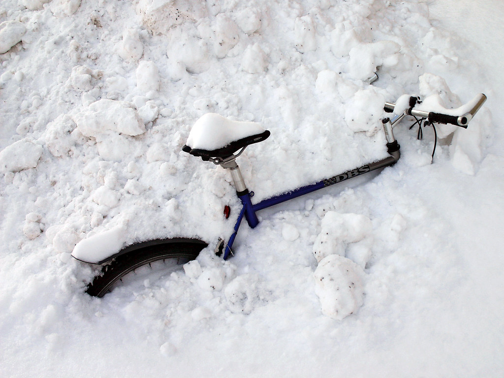 Sick of shovelling snow?