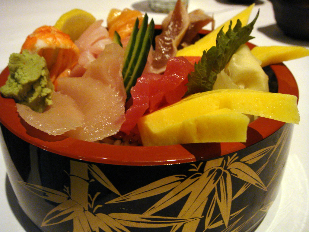 Traditional Japanese Chirashi