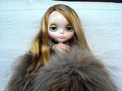 Annabel in fur
