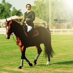 ( MR.LoNeLy  Back) Tags: horse mohammed lonely horseriding  mohd  mrlonely       equatrian