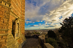 Before the storm - Cabot tower - Brandon Hill - Bristol (Mathew Roberts) Tags: uk england clouds photoshop canon bristol eos britain great 7d viewpoint clifton lightroom cabottower brandonhill cs4 eos7d mathewroberts