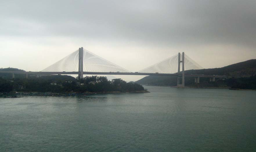Hong Kong Suspension Bridge