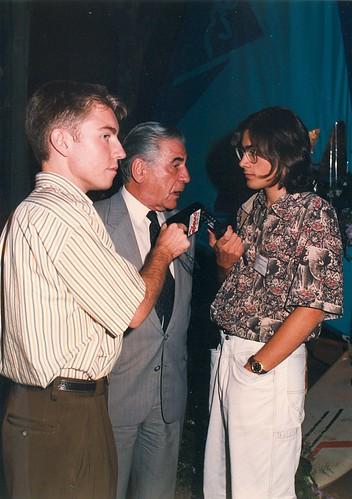 Agustí Bassols a Calella 1991