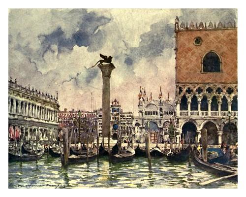 013- Plaza de San Marcos-Venice – 1904-Dorothy Menpes
