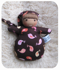 brown-with-birds (Polar Bear Creations Dolls) Tags: baby wool children toy education toddler infant doll natural waldorf girldoll boydoll dressupdoll waldorfdoll rudolfsteiner clothdoll childfriendly anthroposophie pocketbaby steinerdoll waldorfdolls minibaby earlychildhoodlearning waldorftoy cuddledoll companiondoll waldorfpedagogy