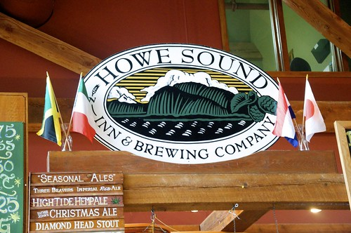 Howe Sound Brewery in Squamish, B.C.