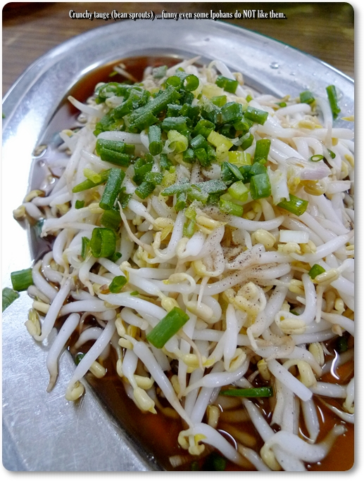 Crunchy Ipoh Bean Sprouts @ Kum Kee