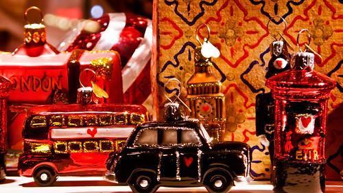 Alexander McQueen's Christmas decorations