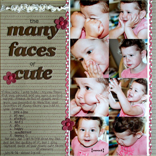 The Many Faces of Cute
