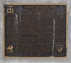 CA-62, Camp Granite 1616a (DB's travels) Tags: california army desert military wwii blm ca62 eclampusvitus trainingcamps