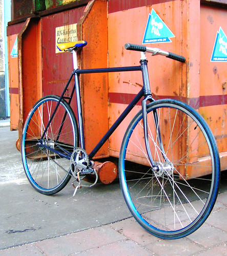 198? KTM road bike converted to fixed gear