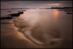Liquid Chocolate (Ben Locke (Ben909)) Tags: longexposure water river tide gloucestershire riversevern nd neutraldensity awre nd110