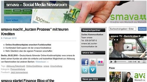 Smava - Social Media Newsroom