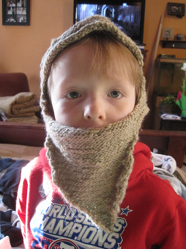knitted wizard beard