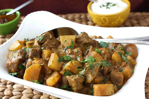 Mum's Savory Beef & Potato Curry Recipe