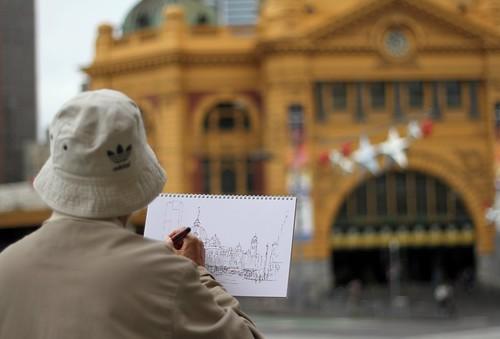 Sketching Flinders