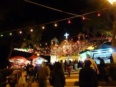 The main church at the Saint Mary's festival.
