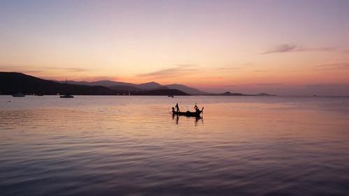Koh Samui Sunset@ Bangrak コサムイ 夕焼け4