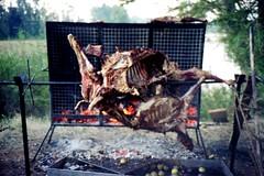880516 Chilean BBQ 2 (rona.h) Tags: chile 1988 bbq april valdivia cloudnine ronah