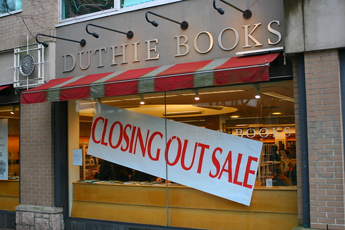 Duthie Books - Closing Out