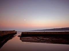 St Andrews Harbour (Charlotte Brett Photography) Tags: sunset sea scotland pier harbour fife standrews
