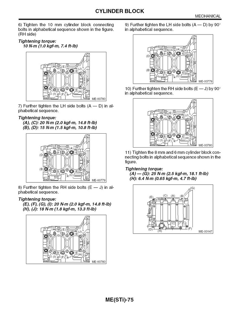 Case Halves Torque Specs Subaru Legacy Forums Engine Block Water Jacket Diagram Did You Follow The Fsm With To Angle Method Image Below Shows Sti But Is Similar Pages 68 69 Of Meh4dotc Manual
