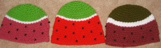 watermelon hat collection