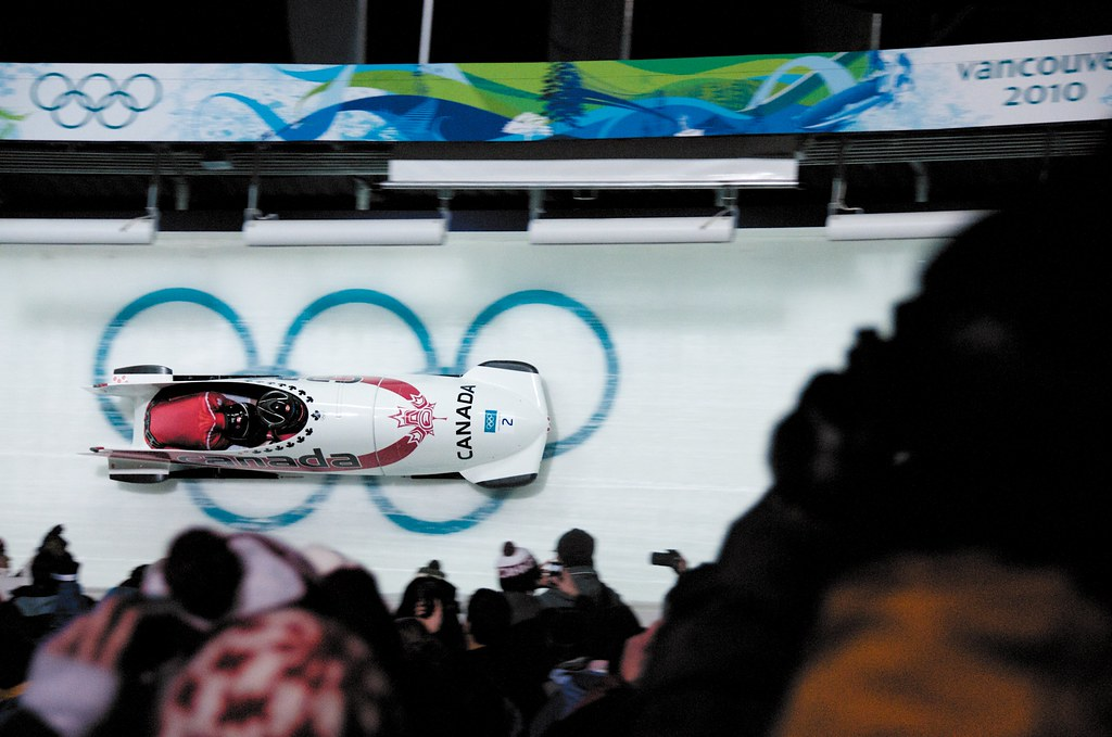 Women's Bobsleigh Team Canada Gold Medal Run