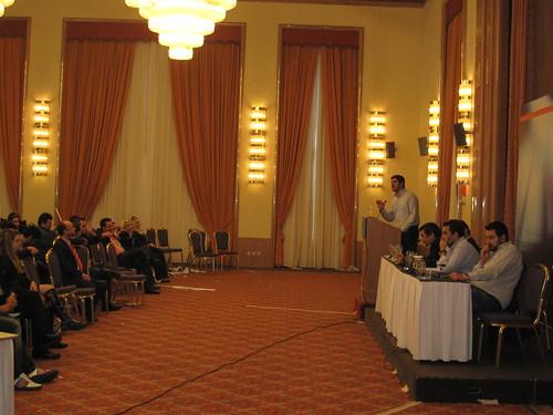 Ομιλία Γραμματέα ΔΑΠ-ΝΔΦΚ ΑΕΙ Γιώργου Παπαδομιχελάκη στο προσυνέδριο της ΟΝΝΕΔ στα Ιωάννινα