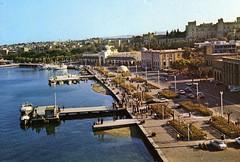 Postcard of Rhodes town (wallygrom) Tags: postcard greece rodos rhodes rhodestown