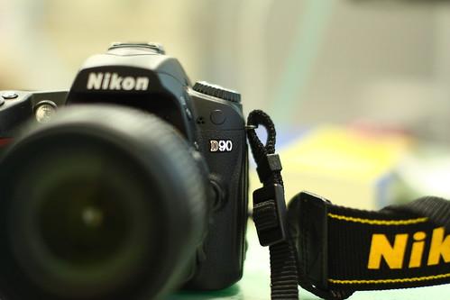 Nikon D90 AF-S DX 18-105G VR