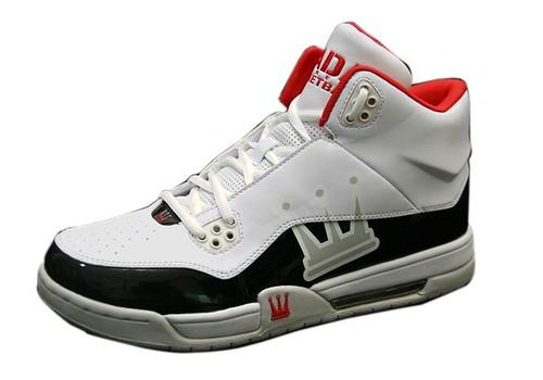 籃球鞋白小檔