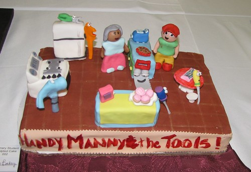 Handy Manny & Tools in the Bakery by Maria Ipiña