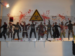 Olivier's Sideshow Collection (SideshowCollectibles) Tags: display collection bloody zombies outbreak gory thedead sideshowcollectibles patientzero collectorphotos fantacular2010 showyoursideshow showusyoursideshow