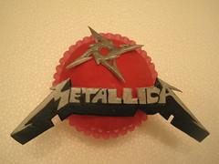 Metallica Cupcake