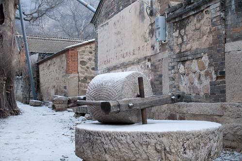 Manual millstone