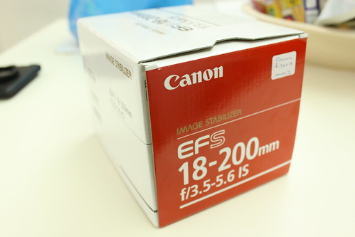 EF-S18-200mm Lens Box Back