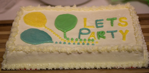 lets party cake