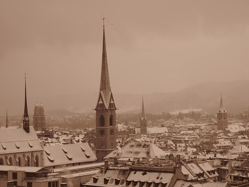 Snowy Switzerland