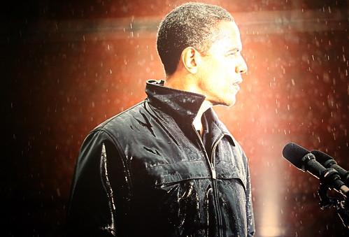 フリー画像| ニュース系| バラク・オバマ/Barack Hussein Obama, Jr.| アメリカ大統領| 黒人| 粉雪| アメリカ人| 人物写真|    フリー素材|