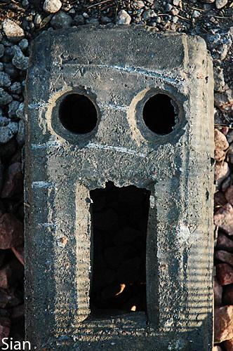brick-face