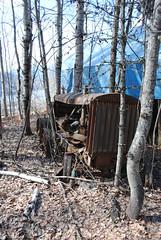 Really really old Tractor (Hoodicoff) Tags: tractor abandoned kootenays earlyspring nelsonbc