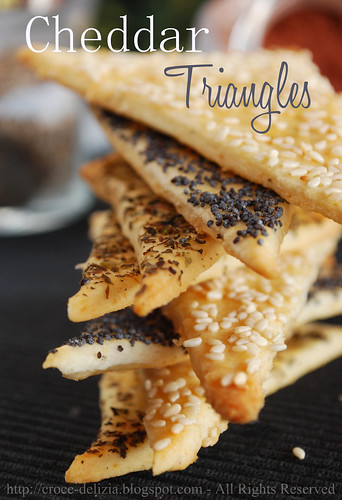 Cheddar triangles