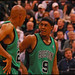 Ray Allen and Rajon Rondo - Boston Celtics 4118b