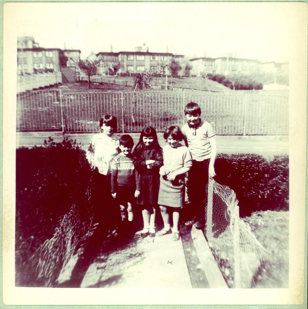 The Campbells, Cranhill Park, 1970.